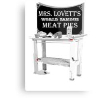 Mrs. Lovett's Meat Pies Metal Print