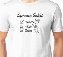 Empowering Checklist Unisex T-Shirt