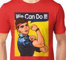 We Can Do It! (Heart Pin) Unisex T-Shirt