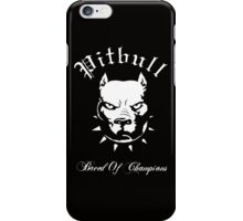 Pitbull Breed of Champions iPhone Case/Skin