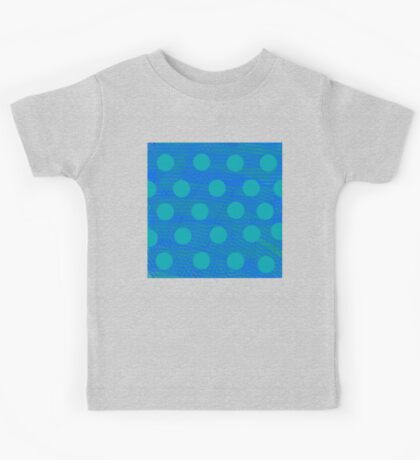 Blues Dots  Kids Tee