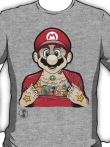 Mario's Got Ink T-Shirt