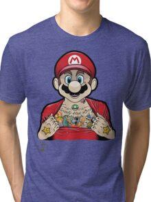 Mario's Got Ink Tri-blend T-Shirt