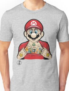 Mario's Got Ink Unisex T-Shirt