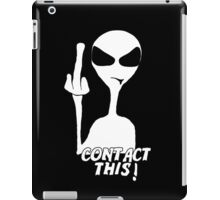 Contact This! iPad Case/Skin