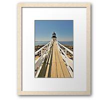 Marshall Point Lighthouse I Framed Print