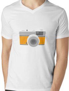 Vintage camera Mens V-Neck T-Shirt
