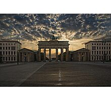 Berlin Sunrise Photographic Print