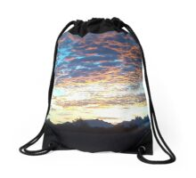 A New Mexico Morning Drawstring Bag