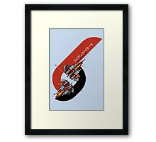 Raiden Fighters Framed Print