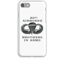 Jump Wings - 82nd Airborne - Brothers in Arms iPhone Case/Skin