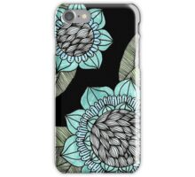 Copic Flowers iPhone Case/Skin