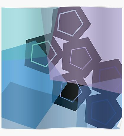 Cool Polygons Poster