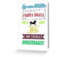 Waverly Earp - Totally Amazeballs!  Greeting Card