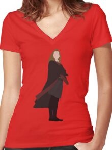 Hermione  Women's Fitted V-Neck T-Shirt