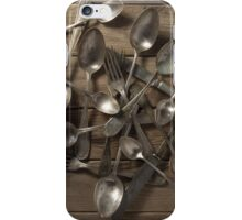 Spoons, forks and knives iPhone Case/Skin