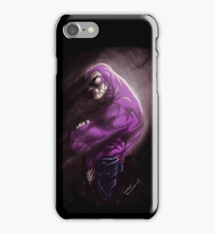 Phantom in the cave iPhone Case/Skin