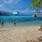 A Day at the Beach (Labadee, Haiti) by Yannik Hay