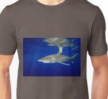Cruising Oceanic White Tip Shark Unisex T-Shirt