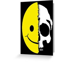 Shreaded Smiley Greeting Card