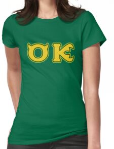 Oozma Kappa - OK  Womens Fitted T-Shirt