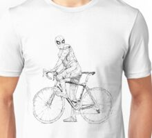 Spider-Man On a Bike Unisex T-Shirt