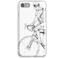Spider-Man On a Bike iPhone Case/Skin