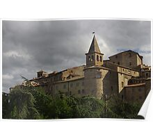 Anghiari - Medieval Fortified Hilltop Town Poster