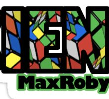 Max Roby - Science Sticker
