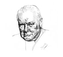 Sir Winston Churchill Photographic Print