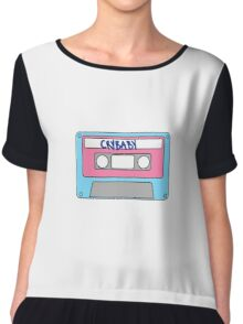Cry Baby Cassette Tape Chiffon Top