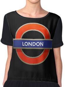 LONDON Chiffon Top