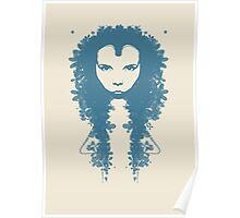 Persephone (blue-cream) Poster