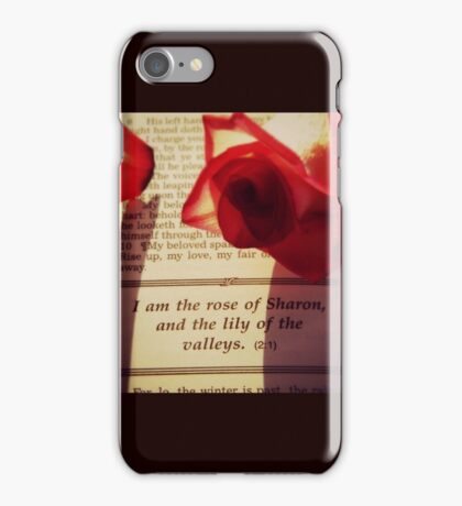 Rose of Sharon iPhone Case/Skin