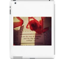 Rose of Sharon iPad Case/Skin