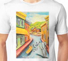 Donkey~Pembroke Corgi~Dog~Leave Cripple Creek~Colorado Unisex T-Shirt