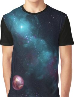 Lonely in space Graphic T-Shirt