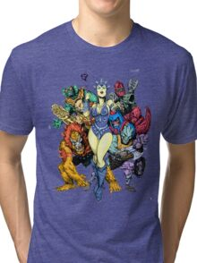 The bad guys of Eternia Tri-blend T-Shirt