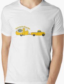 Yellow Truck & Camper Mens V-Neck T-Shirt