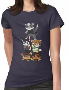 Forming Voltron: Are we doing this correctly? Womens Fitted T-Shirt