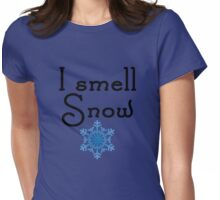 Gilmore Girls - I smell Snow Womens Fitted T-Shirt