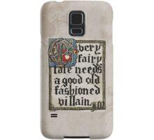 Sherlock Moriarty Calligraphy Samsung Galaxy Case/Skin