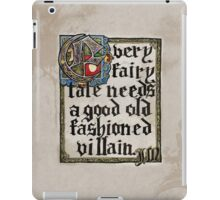 Sherlock Moriarty Calligraphy iPad Case/Skin