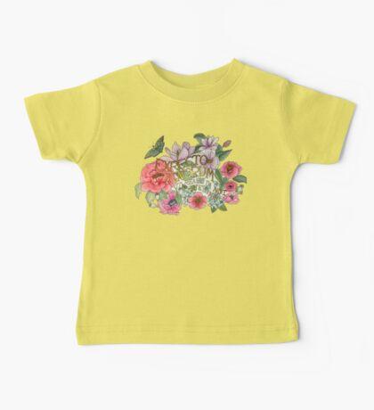 Floral Quote Expecto Ignorum Baby Tee