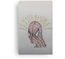 Spidey senses are tingling Canvas Print