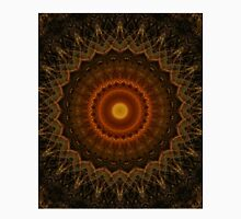 Mandala in brown, orange and red colours Unisex T-Shirt
