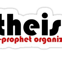 Atheist humor Sticker