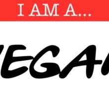 Hello I'm a Vegan Sticker