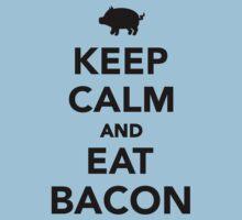 Keep calm and eat bacon One Piece - Short Sleeve