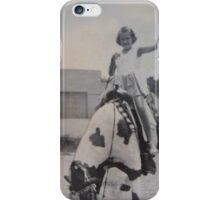 Ride 'Em, Cowgirl  iPhone Case/Skin